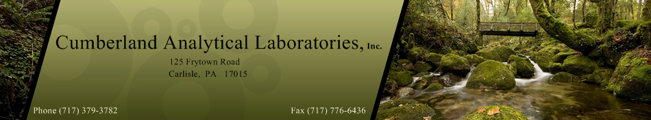Cumberland Analytical Laboratories, Inc asbestos testing